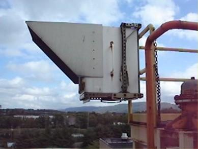 ram2000-open-path-ftir-fenceline-air-monitor-analyzer-applications-chemical-facilities-retro-reflector-housing