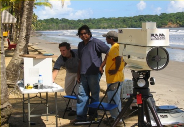 ram2000-open-path-ftir-fenceline-air-monitor-analyzer-applications-greenhouse-gases-Nariva-Trinidad-shoreline-1
