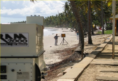 ram2000-open-path-ftir-fenceline-air-monitor-analyzer-applications-greenhouse-gases-Nariva-Trinidad-shoreline-2