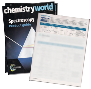 chemistry world spectroscopy product guide publication may 2015