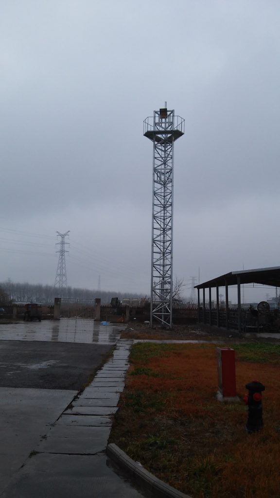 China Industrial Site: Retro-Reflector Tower