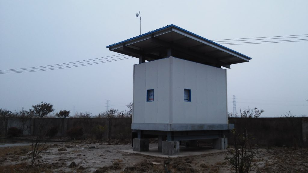 China: Industrial Plant - RAM2000 OP-FTIR shelter